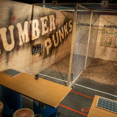 Axe Throwing Lumber Punks Axe Throwing - Miami, 0
