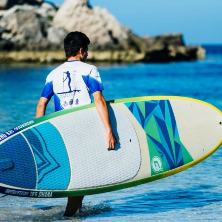 Paddle Boarding (SUP) Standup Surfing,
